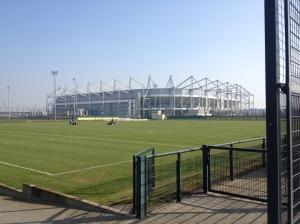 Borussia Park í Mönchengladbach