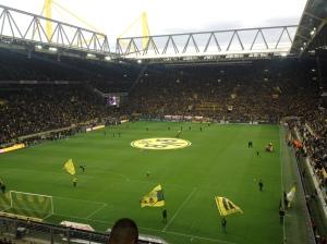 Signal-Iduna Park / Westfalenstadion á leikdegi